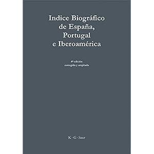 Indice Biografico de Espana, Portugal e Iberoamerica