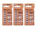 パナソニック 補聴器用空気電池 PR41 Z/6PTK(312) 3パックセットイヤメイト AK-04、AK-05などに [PR-41]