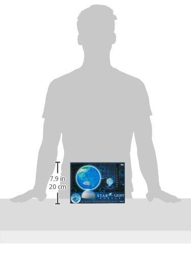 240ピース 光る球体パズル スターライトパズル-BLUE EARTH-