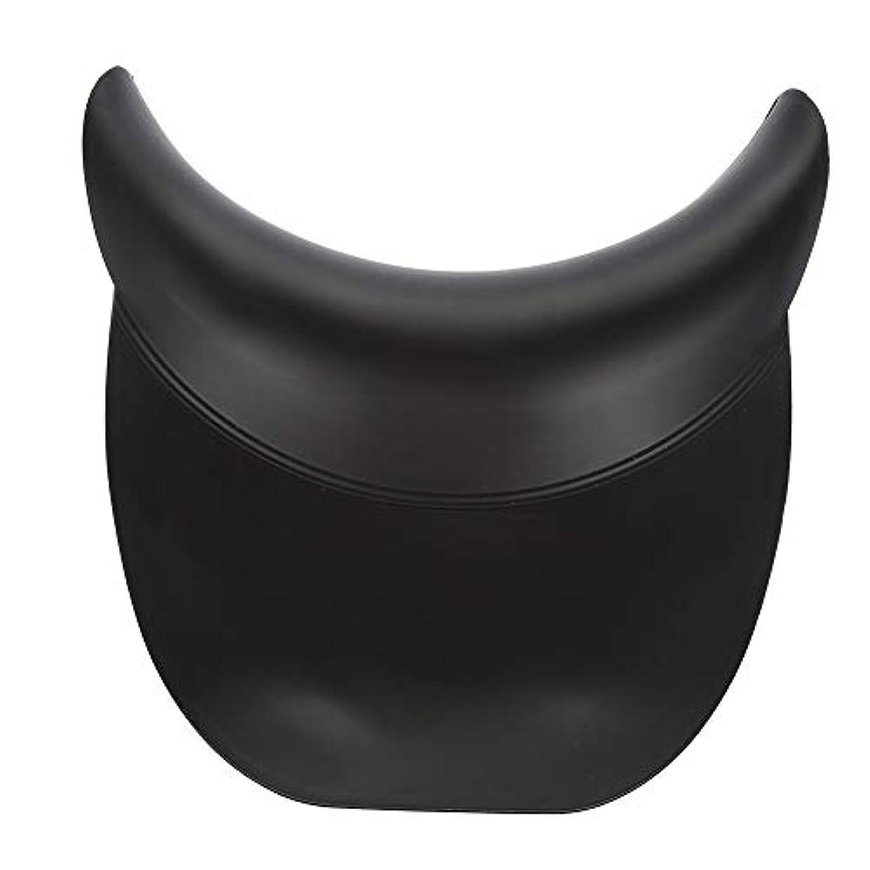 肘掛け椅子ホバーリンケージOkuguy サロン?スパシリコーンシャンプーボウルグリッパー髪シンクネックレストクッションを洗濯