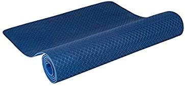 Genconnect TPE Blue Yoga Mat, 6mm