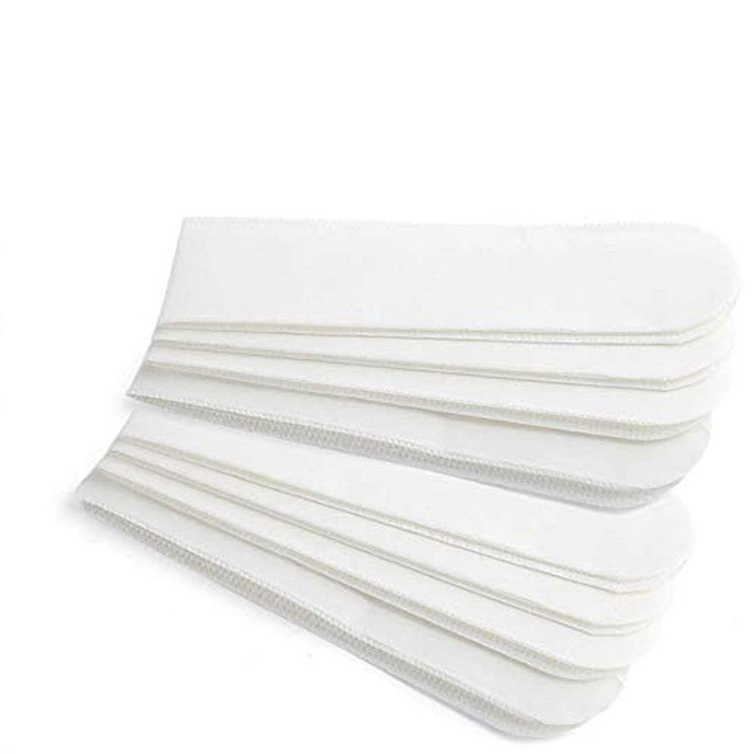 防ぐハウジング雪だるまを作るHUANBO 襟汗 パッド 染みない バレない 気にならない 簡単 えり汗 対策 テープ型 12枚入り