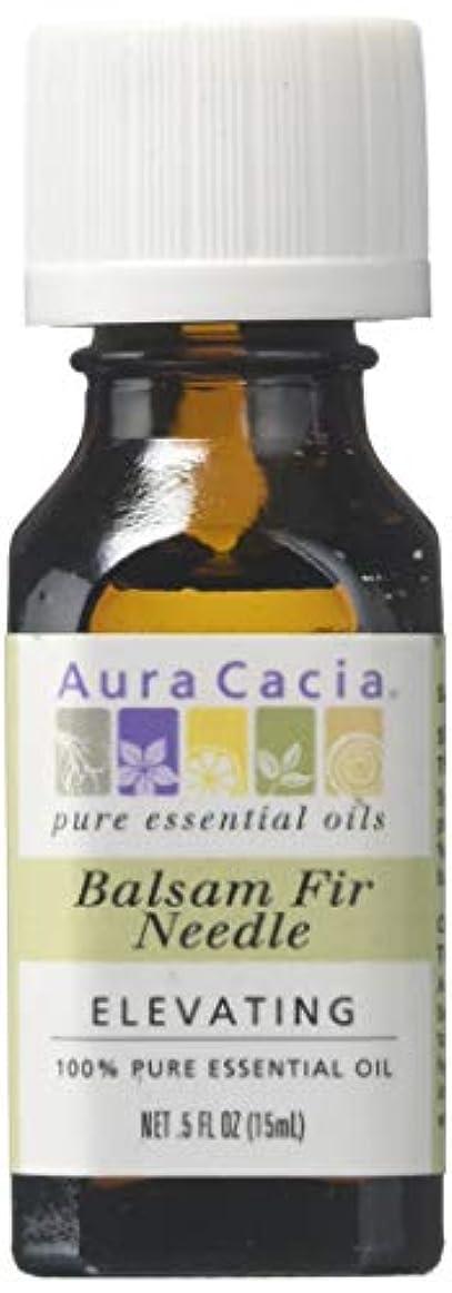 消毒する日曜日静けさ海外直送品 Aura Cacia Pure Essential Oil Fir Needle Balsam, Fir Needle Balsam 0.5 oz