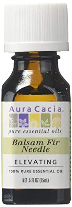 夢ガラス和らげる海外直送品 Aura Cacia Pure Essential Oil Fir Needle Balsam, Fir Needle Balsam 0.5 oz
