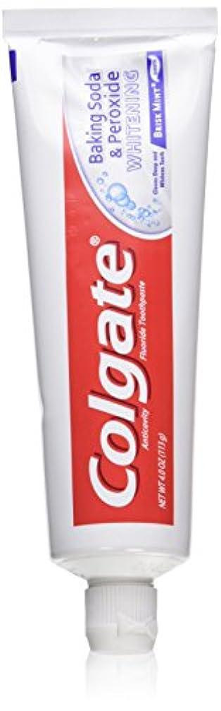 サスティーンシェトランド諸島作曲家Colgate 重曹と過酸化物ホワイトニングの歯磨き粉の泡、好調ミント、4オンス