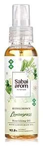 サバイアロム(Sabai-arom) レモングラス ナリッシングオイル (ボディオイル) 100mL【LMG】【007】