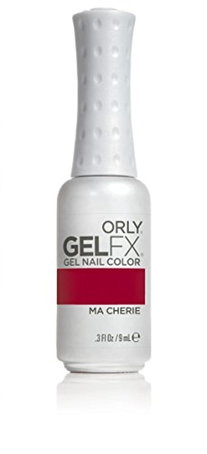 屋内で熟す伝導Orly GelFX Gel Polish - Ma Cherie - 0.3oz / 9ml