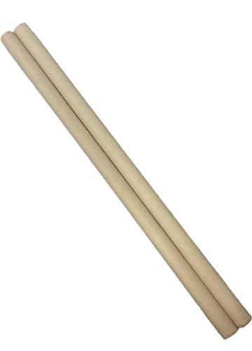 米ヒバ 丸棒 長さ:40cm 太さ:1.8cm マイバチ用