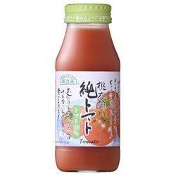 マルカイ 順造選 純トマトジュース 180ml瓶×20本入×...
