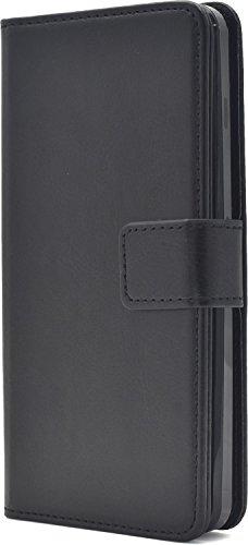 PLATA Y!mobile Android One S2 / SoftBank DIGNO G ( 601KC & 602KC ) ケース 手帳型 カラー レザー ポーチ カバー アンドロイドワン S2 ディグノg 【 ブラック 黒 くろ black ぶらっく 】 YAOS2-77BK