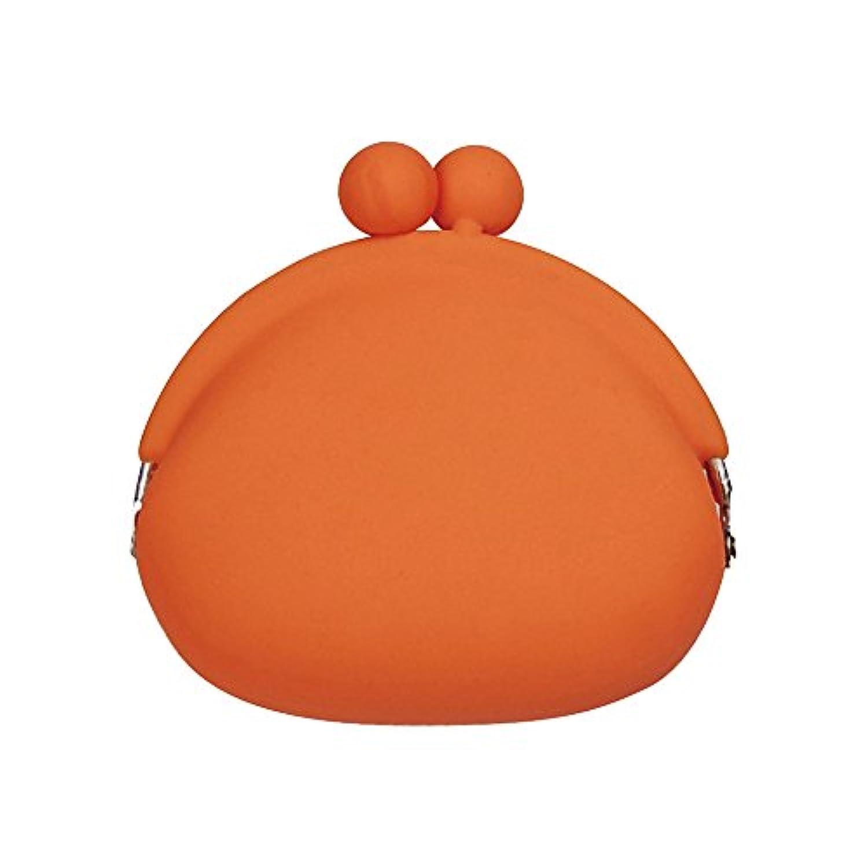 (ピージーデザイン) p+g design シリコン がまぐち ポチ POCHI-Orange【0085】