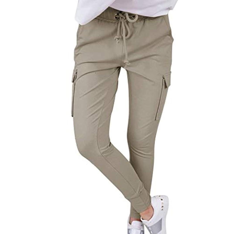 平らにする活性化強いパンツ レディース 女性 のファッション スリムストラップ パンツ オーバーオール ワイドパンツ スカンツ バギー パンツ 無地 カジュアル ゆったり ウエスト ゴム マキシ