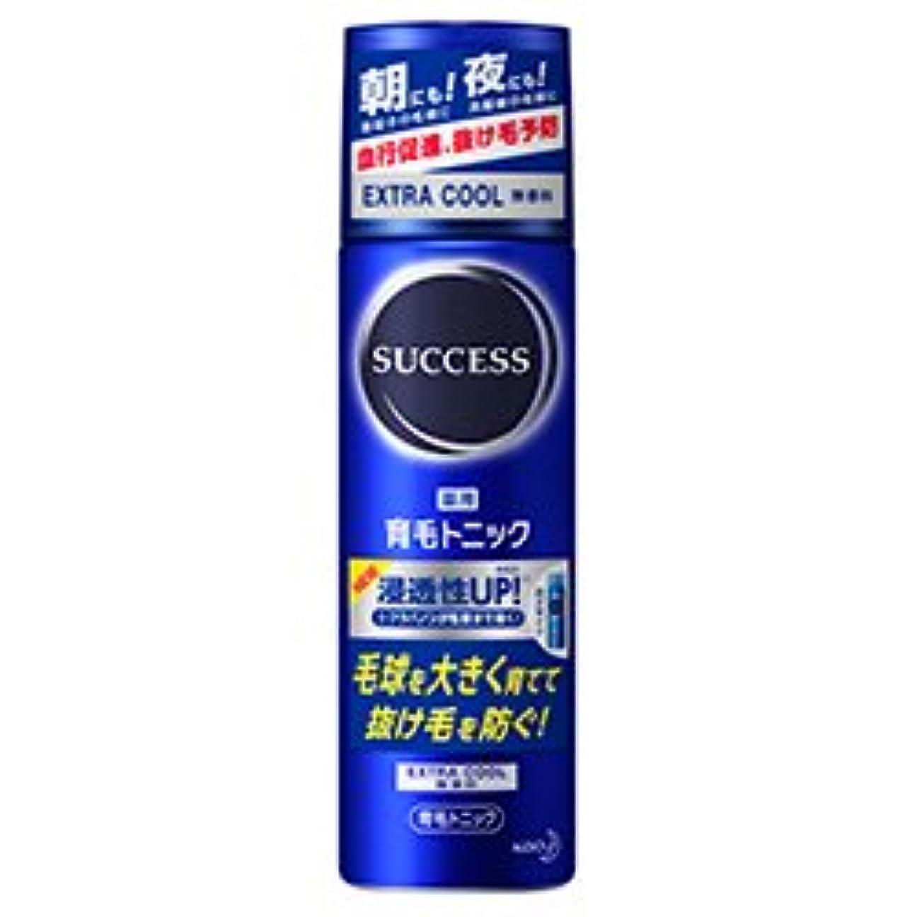 要求合図高める【花王】サクセス 薬用育毛トニック エクストラクール 無香料 180g ×5個セット