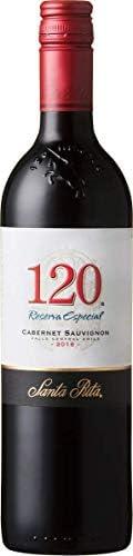 【品種の特性を最大限に表したシリーズ エレガントで全体の調和がとれたワイン】サンタ・リタ 120(シェント・ベインテ) カベルネ・ソーヴィニヨン [ 赤ワイン ミディアムボディ チリ 750ml ]
