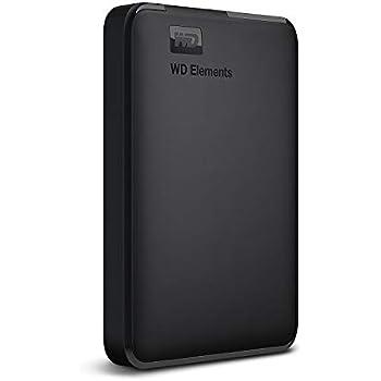 WD HDD ポータブルハードディスク 1TB WD Elements Portable WDBUZG0010BBK-WESN USB3.0/2年保証