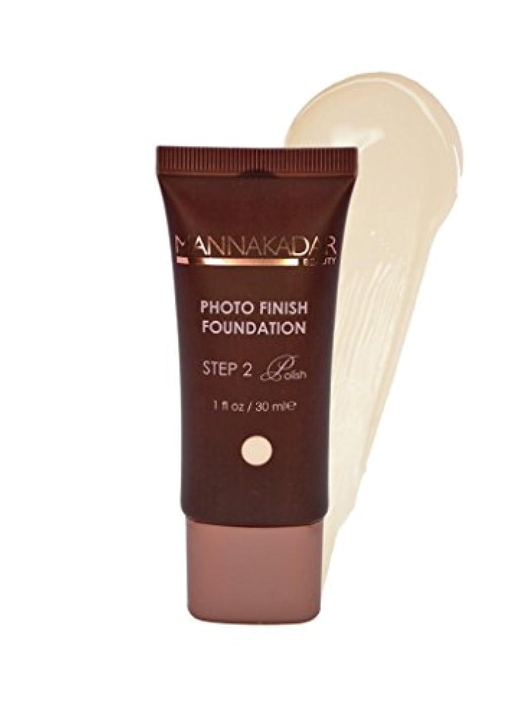 に慣れワンダー良性Manna Kadar Cosmetics フォトフィニッシュ財団C2 - 完璧 ワンサイズ 磁器