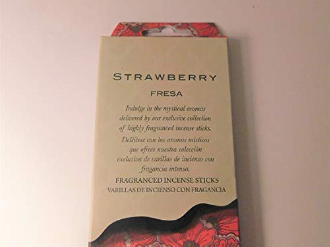 絶え間ない艶普及Flora Classique ストロベリー フレサ お香スティック 40本