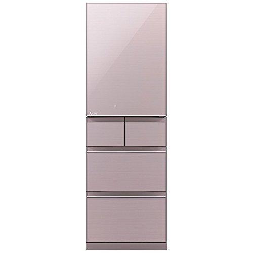 三菱 冷蔵庫 スマート大容量 右開き 455L クリスタルロゼ...