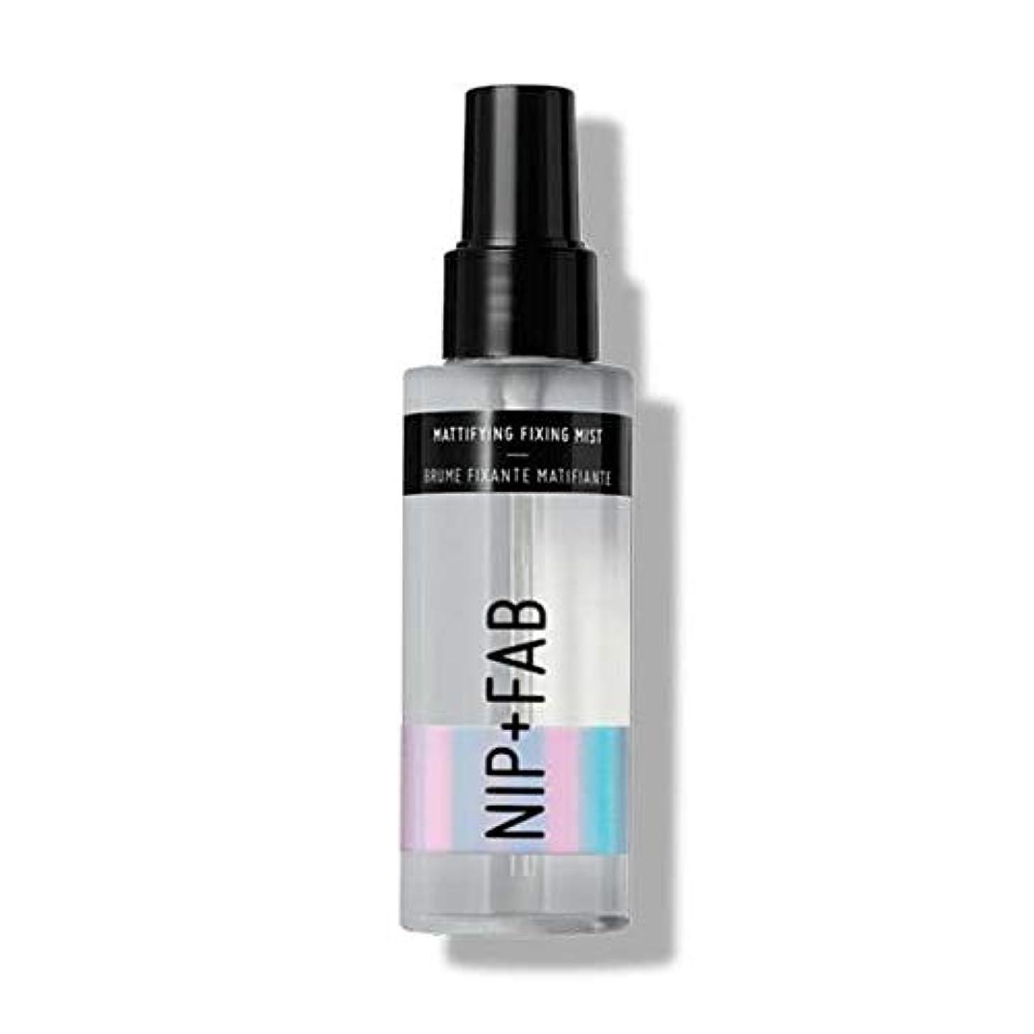 コールドによると悪質な[Nip & Fab ] ミスト100ミリリットル1を固定艶消し作るFab +ニップ - NIP+FAB Make Up Mattifying Fixing Mist 100ml 1 [並行輸入品]
