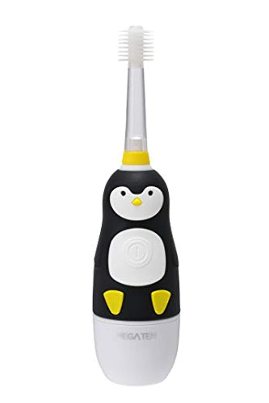 ネット輪郭列挙するVIVATEC(ビバテック) 子供用電動歯ブラシ ピカるん ぶるぶるはぶらし ぺんぎん 23cm