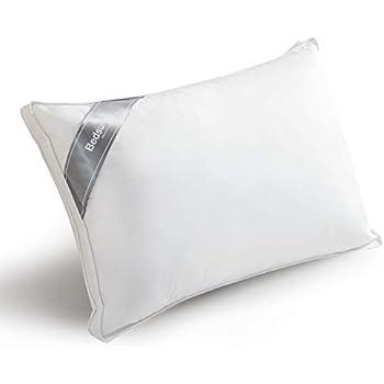 Bedsure 枕 安眠 ホテル 仕様 マクラ まくら 人気 快眠枕 ホテルスタイルまくら 高反発 ランキング 43x63cm ピロー ホワイト 洗える 高さ調節 可能 横向き枕 立体構造 側生地 綿 100% 肩こり 人気安眠枕