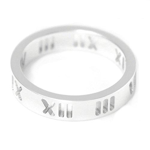 [ティファニー] TIFFANY スターリングシルバー アトラス ナロー リング 指輪 【並行輸入品】 30540441 日本サイズ16号 (USサイズ8号)