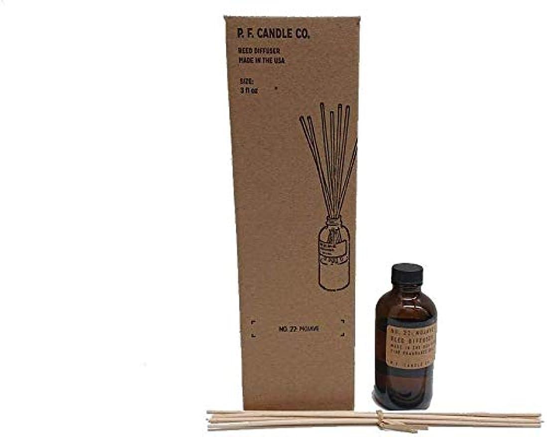 コミュニティ教育学エレベーターPFキャンドル(pf candle)ディフューザー 10種類 (SANDALWOOD ROSE(サンダルウッドローズ), 3.0oz 容器サイズ:H11cm/φ5cm)