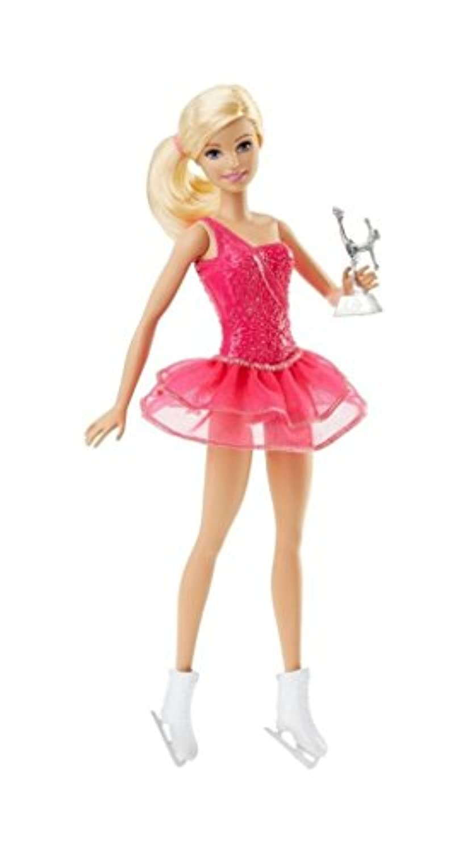 バービー(Barbie)!クリエイティブ ファッション! アイススケーター ! Barbie Careers Ice Skater Doll ! [並行輸入品]