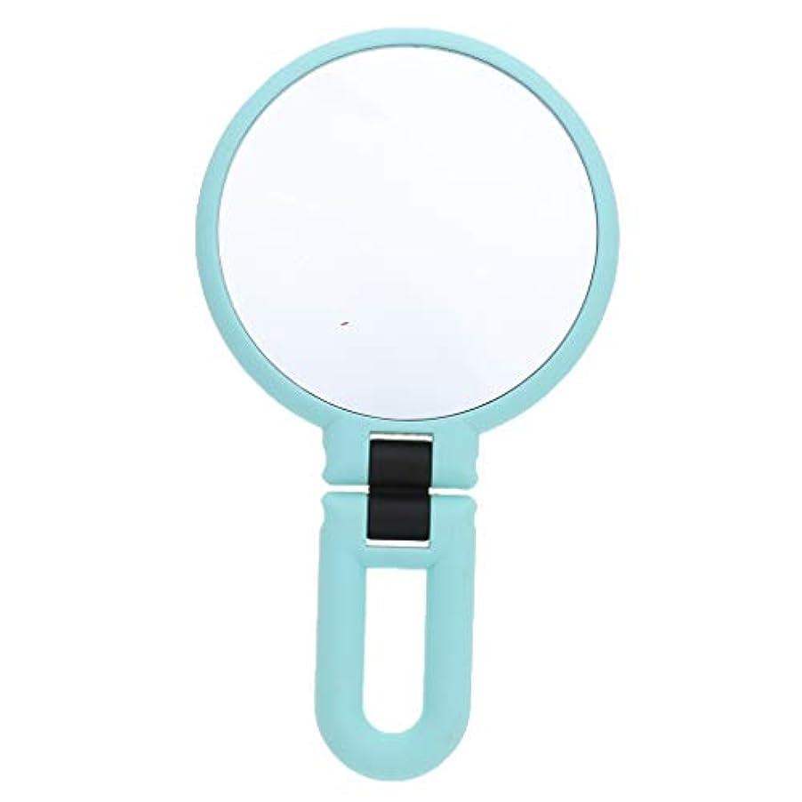 環境に優しい平等離れたgazechimp 鏡 化粧鏡 ハンドルミラー 装飾 ポータブル 両面鏡 全3サイズ - 15倍の拡大鏡