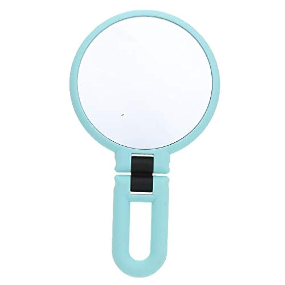 どれスタウトと組むgazechimp 鏡 化粧鏡 ハンドルミラー 装飾 ポータブル 両面鏡 全3サイズ - 15倍の拡大鏡