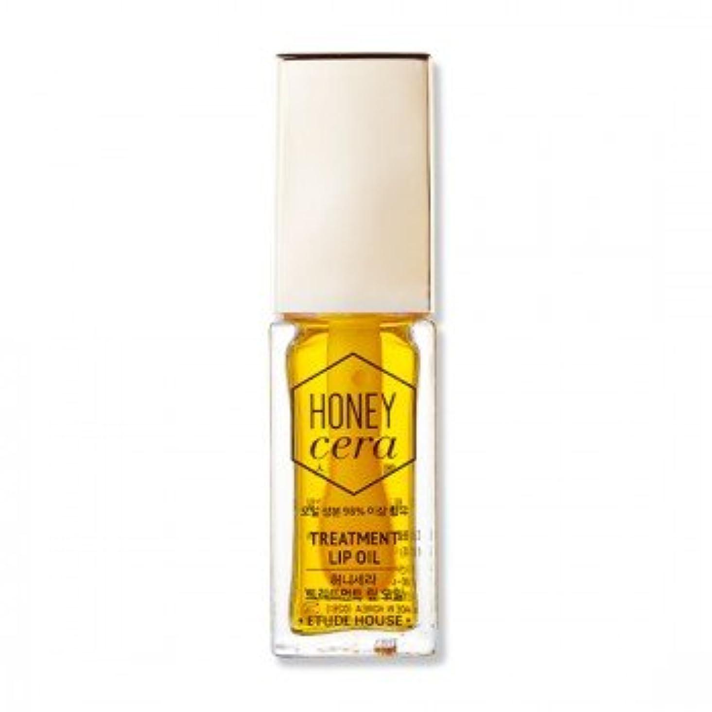 レバーロンドン見捨てる(3 Pack) ETUDE HOUSE Honey Cera Treatment Lip Oil (並行輸入品)