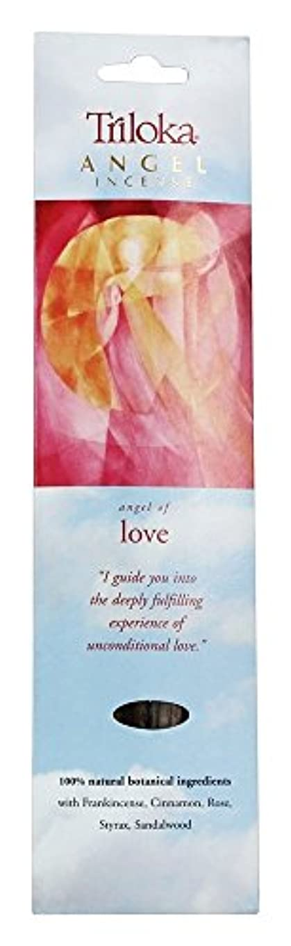 刺激する美的巡礼者Triloka - 愛の天使の香の天使 - 10棒