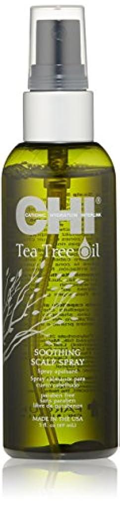 実験歌詞シルクCHI Tea Tree Oil Soothing Scalp Spray 89ml/3oz並行輸入品