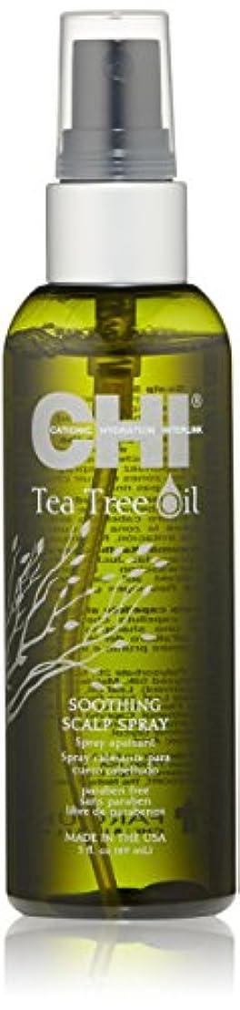 相続人令状夕食を食べるCHI Tea Tree Oil Soothing Scalp Spray 89ml/3oz並行輸入品