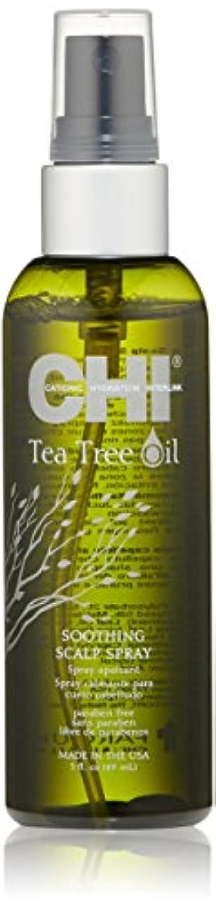 埋めるむしろ損傷CHI Tea Tree Oil Soothing Scalp Spray 89ml/3oz並行輸入品