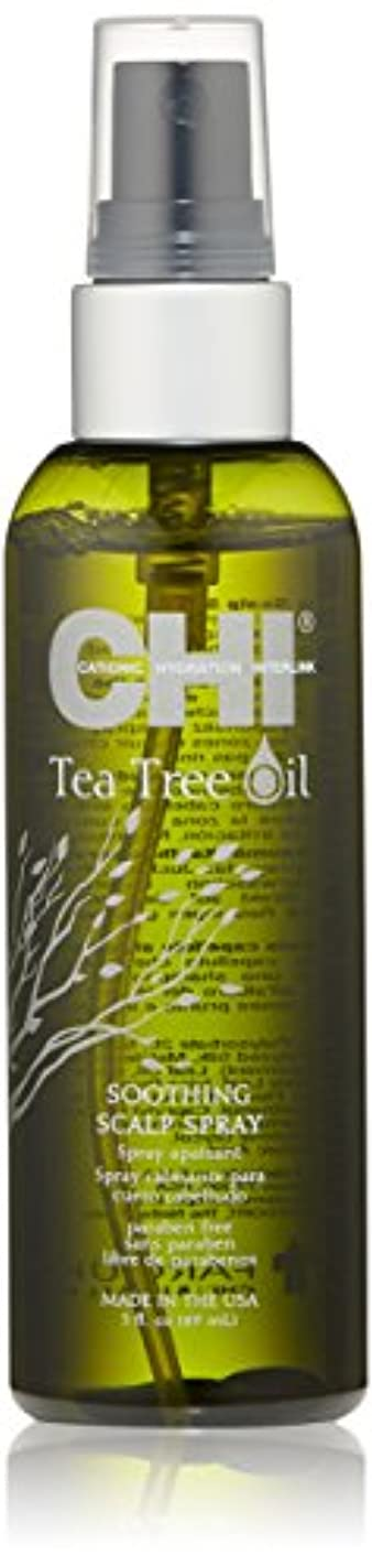 のど宝禁止するCHI Tea Tree Oil Soothing Scalp Spray 89ml/3oz並行輸入品