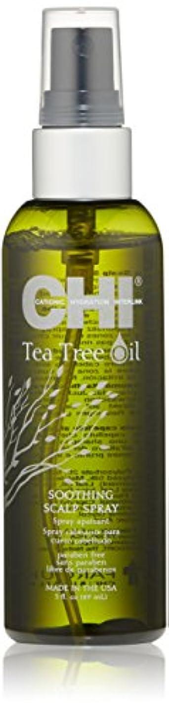 改善腐ったパンチCHI Tea Tree Oil Soothing Scalp Spray 89ml/3oz並行輸入品