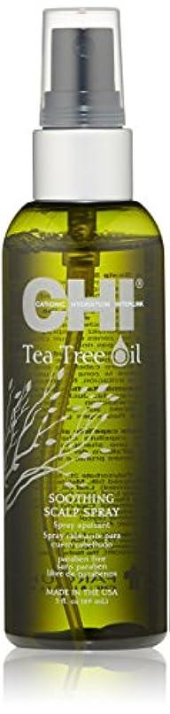 カメラシングル乳剤CHI Tea Tree Oil Soothing Scalp Spray 89ml/3oz並行輸入品