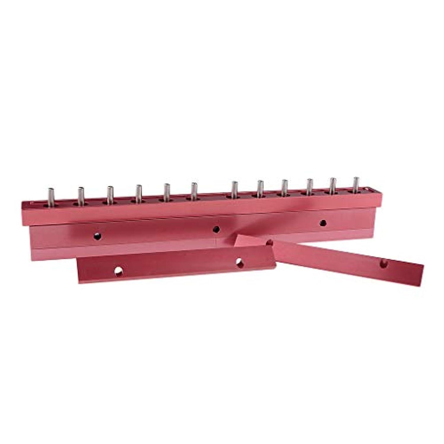 スラダム光の送料T TOOYFUL アルミ製 口紅/リップクリーム リップクリーム型 12穴 12.1mm口紅型 全2タイプ選べ - 3way
