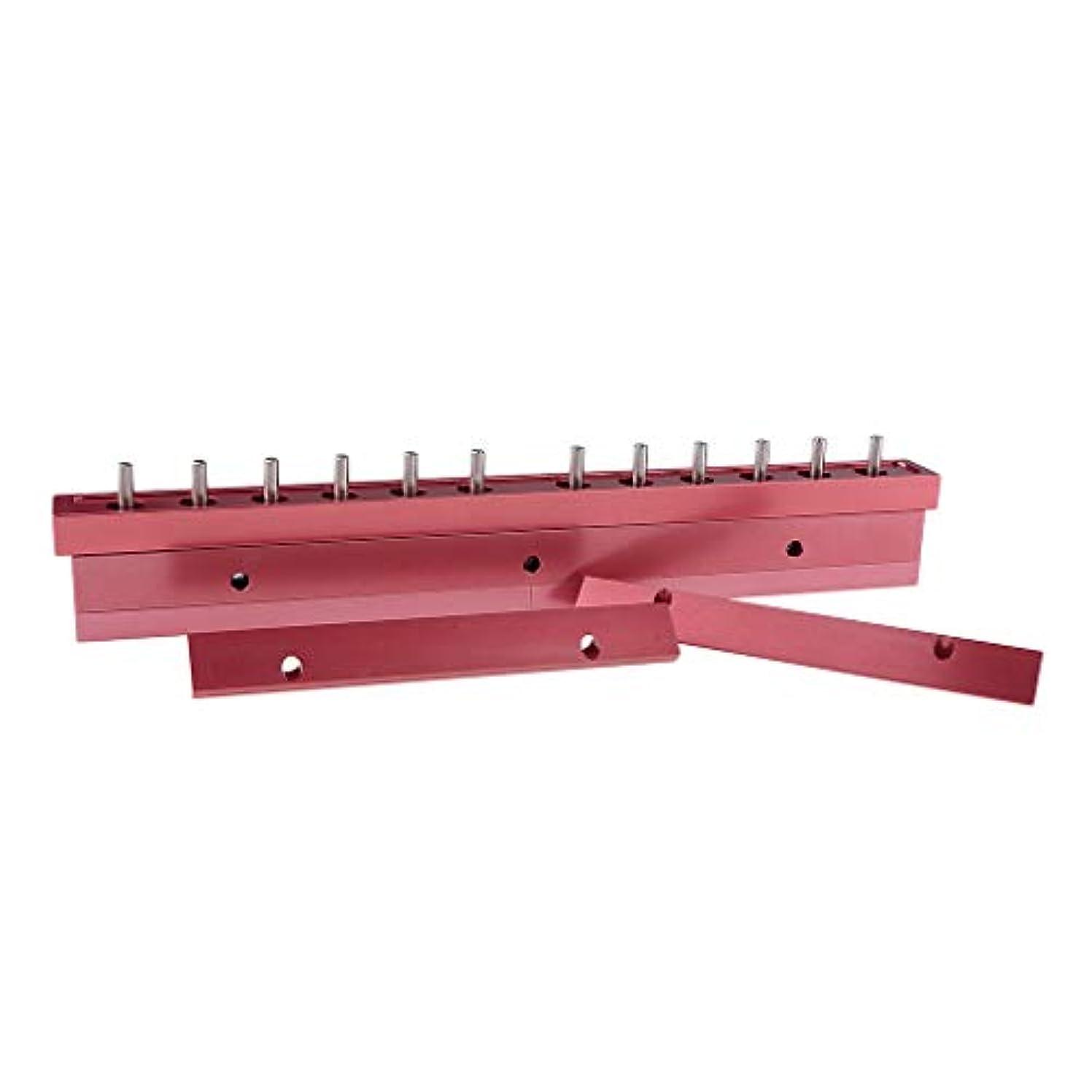 抵抗する多用途異議T TOOYFUL アルミ製 口紅/リップクリーム リップクリーム型 12穴 12.1mm口紅型 全2タイプ選べ - 3way