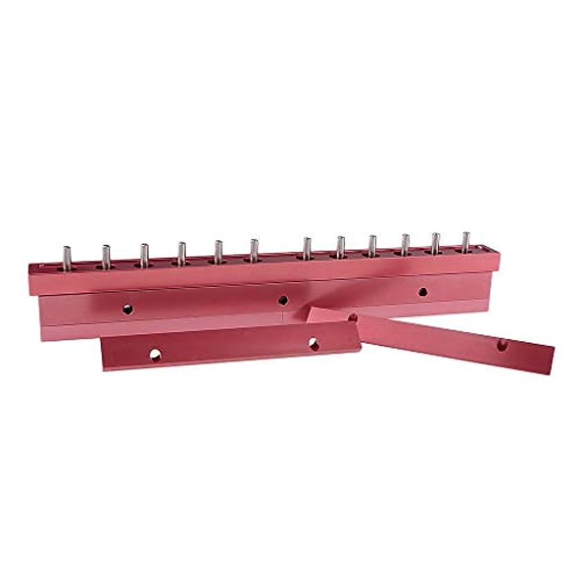 階段論争の的経度T TOOYFUL アルミ製 口紅/リップクリーム リップクリーム型 12穴 12.1mm口紅型 全2タイプ選べ - 3way