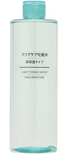 無印良品 クリアケア化粧水・高保湿タイプ(大容量)400ml