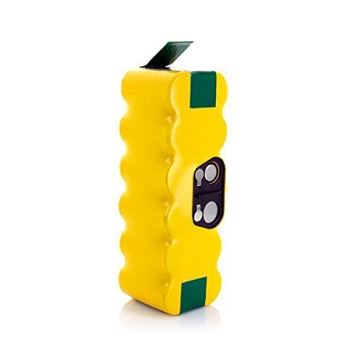 Morpilot ルンバ用バッテリー 長寿命3年 ルンバ 500 600 700 800シリーズ対応用 3800mAh 長時間稼動 (Yellow) 1年保証付き