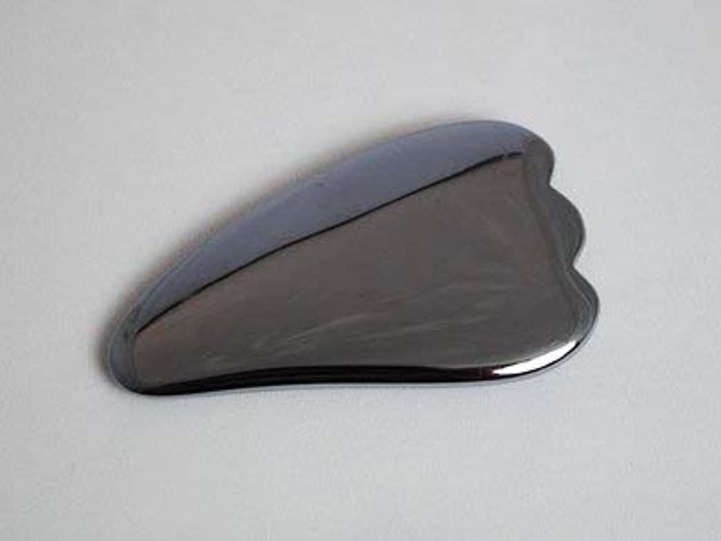 典型的な首尾一貫した二かっさ テラヘルツ 鉱石 天然石 マッサージ 健康グッズ
