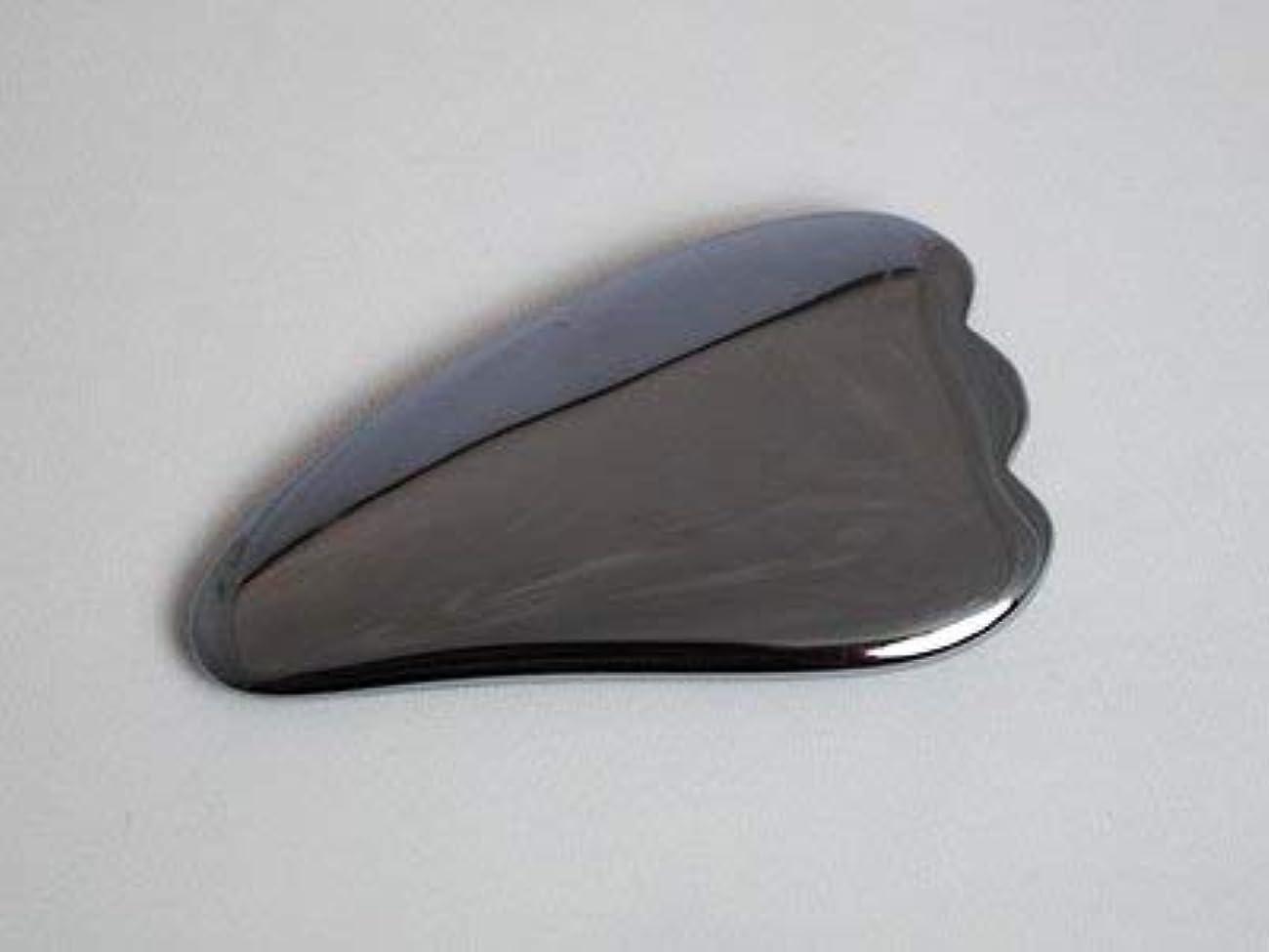 ディーラー光沢のあるマントルかっさ テラヘルツ 鉱石 天然石 マッサージ 健康グッズ