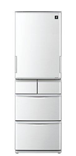 シャープ プラズマクラスター搭載 冷蔵庫 412L グレー系 ...