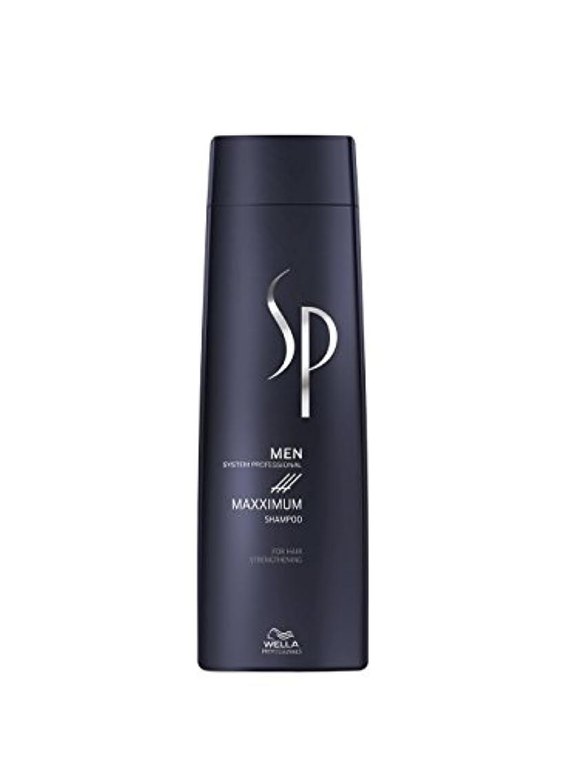 冷蔵庫ボクシング謙虚Wella SP Men Maxximum Shampoo 250ml