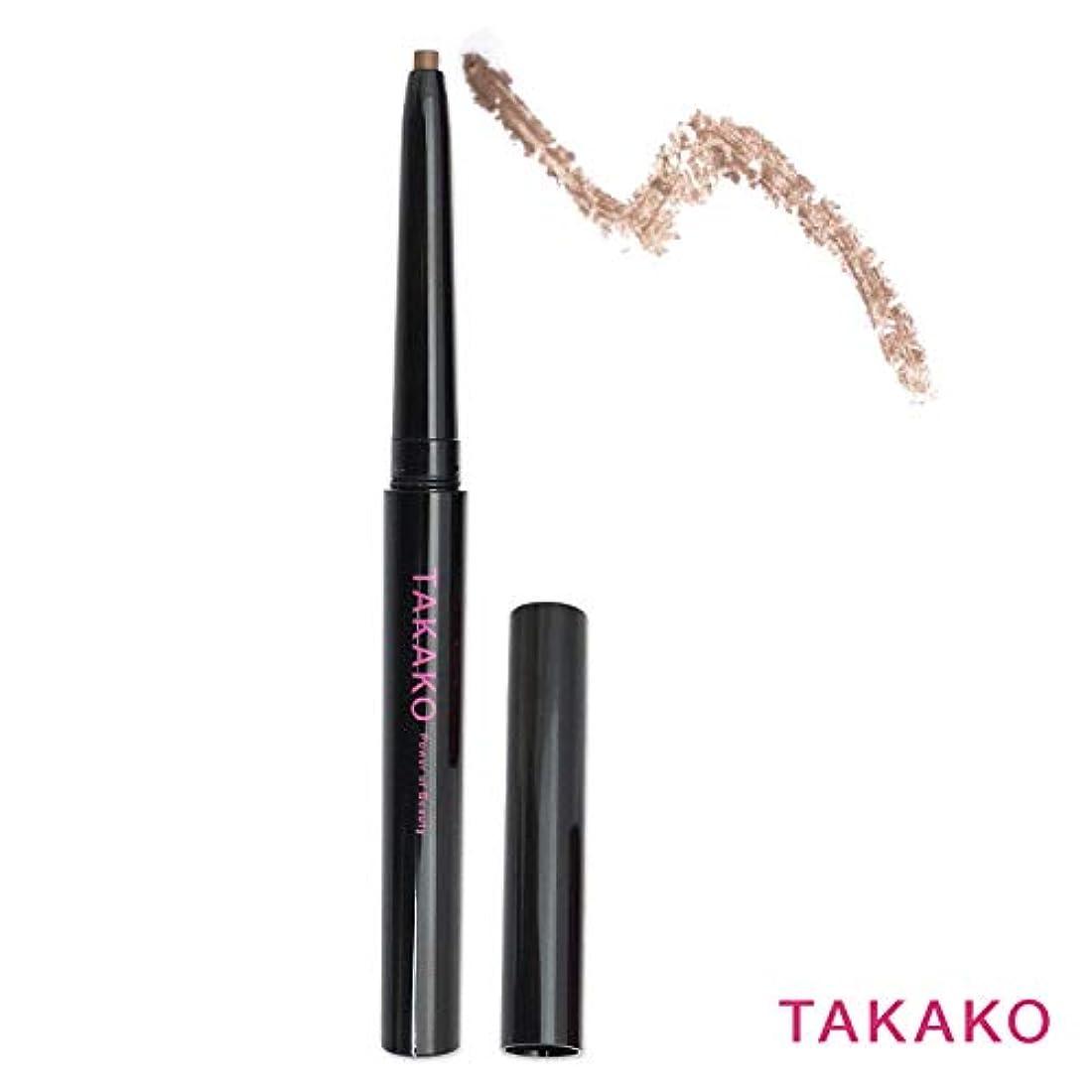 辞任セント包括的TAKAKO スターリングアイブロウ アイブロウペンシル ウォータープルーフタイプ 落ちない 3Dブラウン 3g TAKAKO Power of Beauty STARRING eyebrow pencil【タカコ コスメ】
