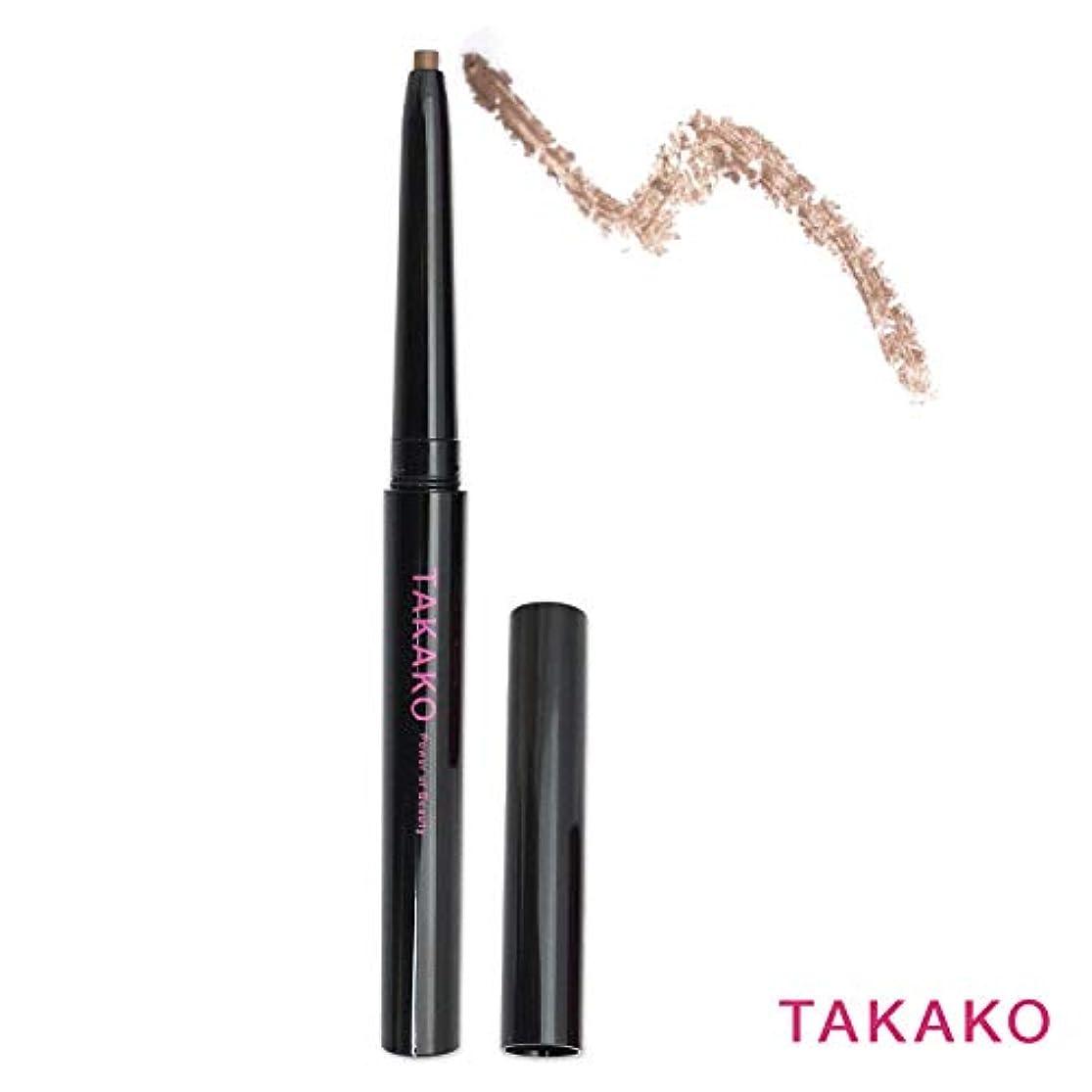 上向き建築家TAKAKO スターリングアイブロウ アイブロウペンシル ウォータープルーフタイプ 落ちない 3Dブラウン 3g TAKAKO Power of Beauty STARRING eyebrow pencil【タカコ コスメ】