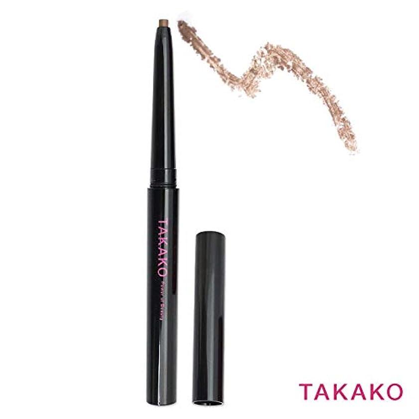 キャリア祈る乞食TAKAKO スターリングアイブロウ アイブロウペンシル ウォータープルーフタイプ 落ちない 3Dブラウン 3g TAKAKO Power of Beauty STARRING eyebrow pencil【タカコ コスメ】